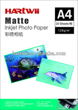 Hartwii factory double sided photo paper 140gsm matte