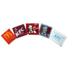 Type five Fast-food restaurant mini cleaning wet wipes