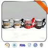 coffee ceramic mug spoon with handle