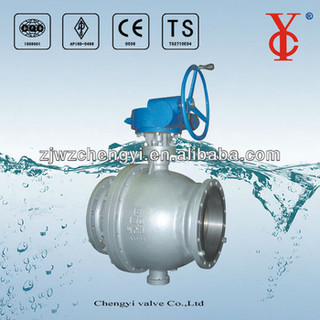 Trunnion-mounted ball valve
