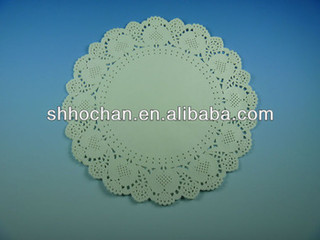 """all size eco-friendly paper doilies round 12""""/paper doilies round"""