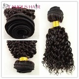 Natural color top quality virgin human hair extension
