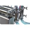 Semi-Automatic Two Nozzle Piston Pneumatic laundry washing Liquid filling machine (chinacoal02)