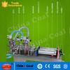 Semi-Automatic Two Nozzle Piston Pneumatic laundry washing Liquid filling Band machine