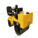 .Hydro Static drive SH-70C Steering Ride on Double Cylinder Road Roller
