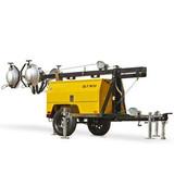 QLT M10 220V Industrial Waterproof Receptacle Construction Light Tower Generator