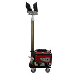 MO-500 50 Hz 3 kw Compact Portable Light Towel With Diesel Engine