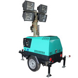 Hand-operated MO-41000A Trailer Light Tower