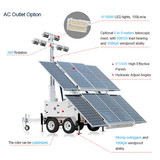 A Gradual Increase In Market Share MOS-2400A-L Mobile Solar Light Tower