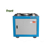 2.Manual Worm Gear Drived GW 40C Carbon Steel Bending Machine