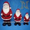 Ceramic crafts Christmas decoration, Santa Claus figurine, indoor home decoration