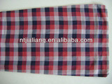 worsted tweed plaid/check blend wool/cotton printed fabric suppliers