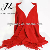 2014 solid color 100% cashmere wool new design fashion scarf/shawl
