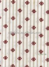 100% cotton flower fashionable yarn dyed fabric for coat/dress/shirt