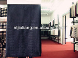China new design tetron tweed fabric dresses for girls