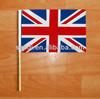 Hand Flag, Hand Waving Flag,UK hand flag with plastic stick