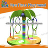 indoor kids playground-rotating animal swing