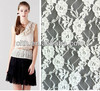 elastic spandex floral lace fabric 11 white stretch lace fabric