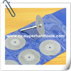 Electroplated diamond blades for cutting gemstone