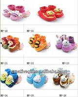 Little 3d animal face baby sock baby shoe,baby sock shoe,new style baby socks shoes