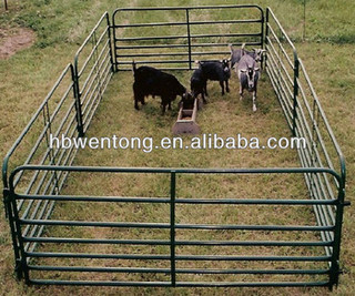 Hot dipped galvanized horse fence panel