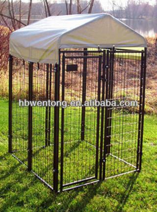indoor metal fence dog kennel