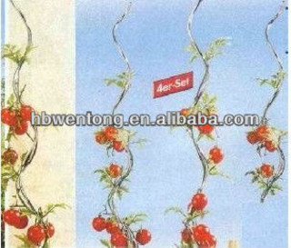 tomato plant spiral support stakes
