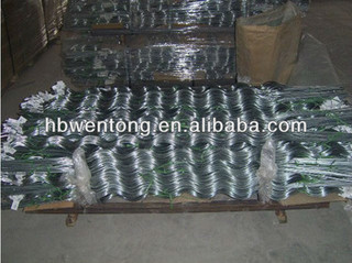 hot dipped galvanized / pvc coated tomato support