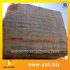 wholesale black and gold marble block