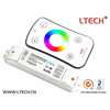 LED mini controller for RGB with RF remote control