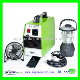 300W Portable solar power system