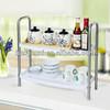 BAOYOUNI spice rack plastic kitchen shelf kitchen sink shelf 0937
