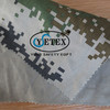 100% Cotton durable FR and anti-static camouflage twill fabric