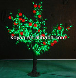 New outdoor led christmas decoration simulation fruit tree lights FZ-672 apple