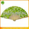 Eco-friendly OEM hot sale folding hand fans wholesale