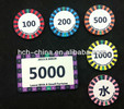 10g Custom Ceramic Poker Chips 39x3mm Sand Grain Surface