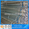ERW hot dipped pre galvanized steel pipe tube