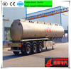 3 axles aluminum oil tank,fuel tank semi trailer