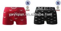 hot seamless men's boxer shorts underwear