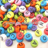 Wholesale Promotional Jewelry Making Accessory Alphbet Letter Beads/Cheap Letter Beads