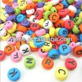 Customize Alphbet Letter Beads/Make Resin Beads/Single Letter Alphabet Bead/Resin Loose Beads/Customize Logo Beads