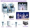 CM-8Y 0.1-2L 1400-1800BPH semi automatic plastic blow moulding machine