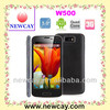 W500 5.0 Inch MTK6582 Quad Core Android 4.2 3G mobile phone