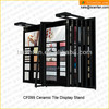 CF099 Flip Carpet Ceramics Tiles Display Racks For Tiles