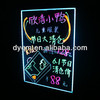 "24""x32"" Colorful Shops Advertising Price Display Led Writing Panel"