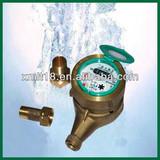 LXS multi jet brass sealing water meter