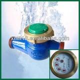 Multi-jet dry type vane wheel water meter