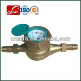 inner mechanical multi jet brass water meter