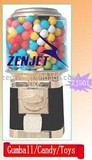 candy/gumball/toy capsule/bouncing ball/toy vending machine