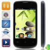 "RG200 smart phone mobile phone MTK6572 Dual-Core Android 4.2.2 WCDMA Bar Phone w/ 3.5"", FM and GPS dual sim"